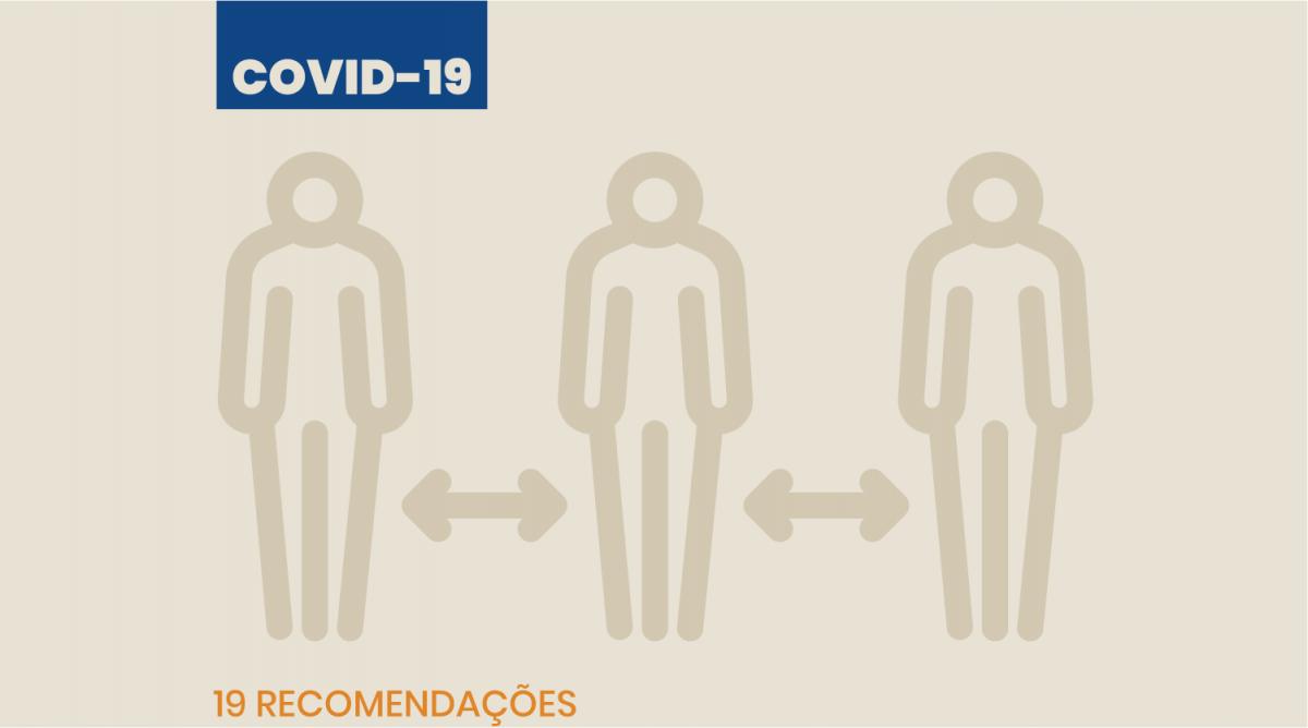 Adaptações do local de trabalho para as empresas – Covid19